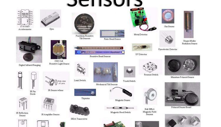 Types of optical sensors