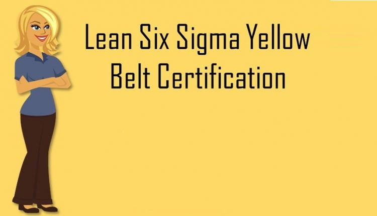 Lean Six Sigma Yellow Belt course