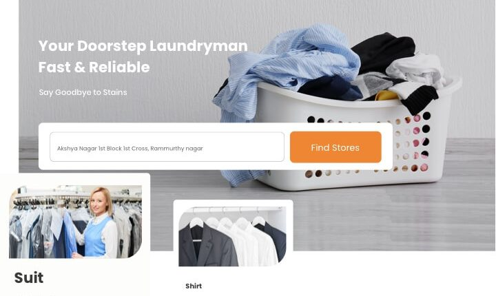 Laundry Business Website